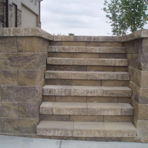 Retaining Wall Blocks From Menards : Quot xl retaining wall cap at menards?