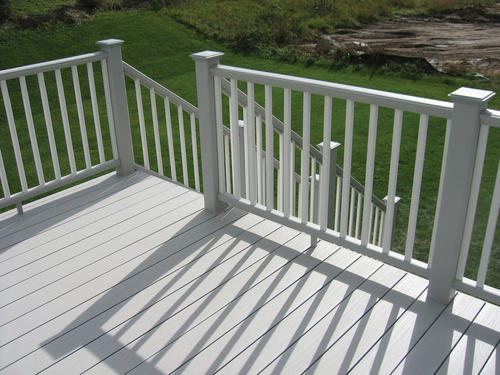 Ultradeck fusion composite decking at menards for Composite decking sale