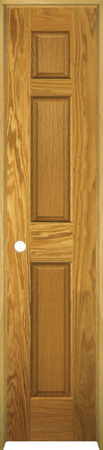 Mastercraft Prefinished Golden Oak 6 Panel Prehung Interior Door At Menards