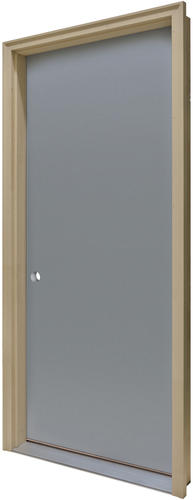 Commander cp 1 primed steel flush prehung ext door at menards for How to install prehung door exterior