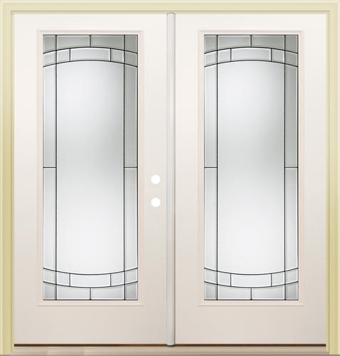 Mastercraft SV 686 Steel 72 X 80 Full Lite French Patio Door At M
