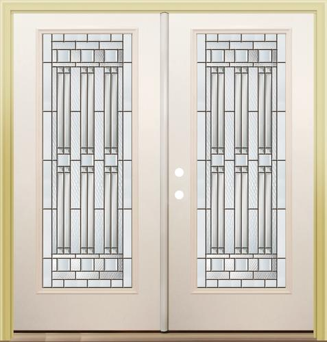Mastercraft Me 686 Primed Steel 72 X 80 Full Lite French Patio Door At Menards