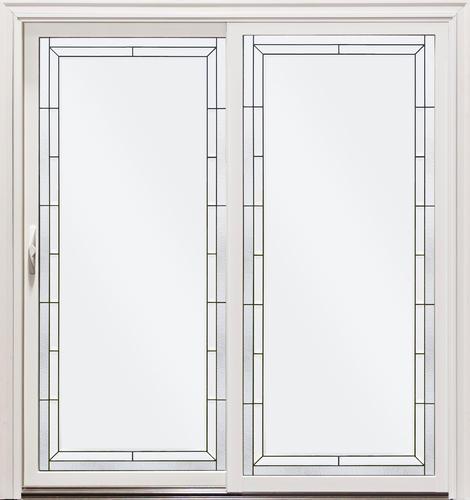 Mastercraft chippewa aluminum clad 72 x 80 sliding patio - Menards exterior doors with glass ...