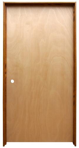 Mastercraft Unfinished Hardwood Hollow Prehung Interior Door At Menards