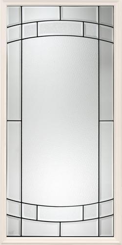 Mastercraft SV 104 Primed Steel 3 4 Lite Ext Door Slab Only At Menards
