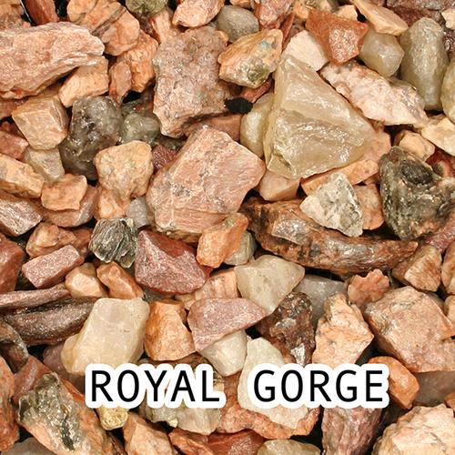 Decorative Stone Ground Cover : Royal gorge stone decorative rock cu ft at menards