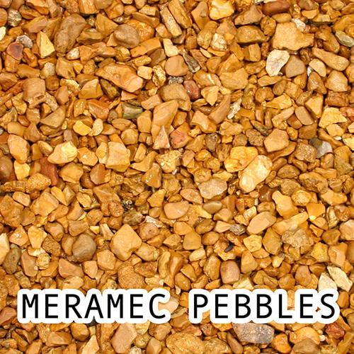 meramec decorative rock 0 5 cu ft at menards 174