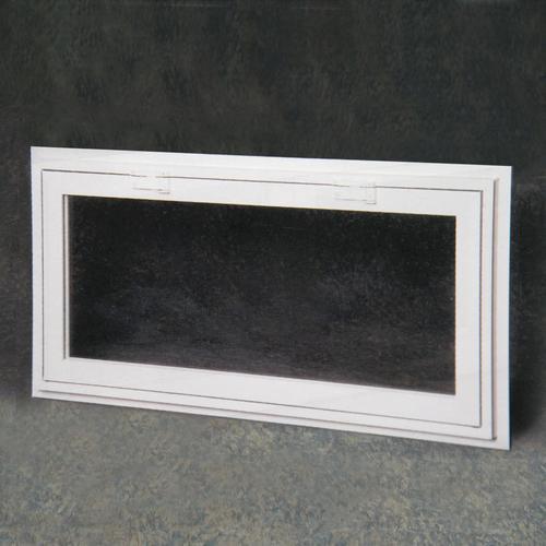 Northview Custom White Vinyl Tilt In Hopper Window With 3