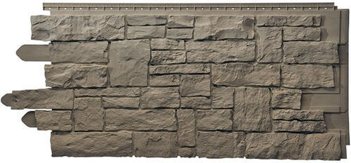Novistone Vinyl Stacked Stone Panel 5 Sq Ft At Menards 174