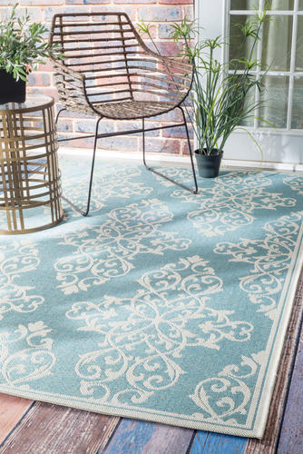 nuLOOM Annevoie Collection Sylvester Indoor Outdoor Area