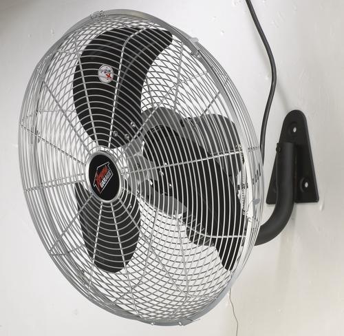 Best Oscillating Wall Fan : Xtreme garage quot speed industrial oscillating wall fan