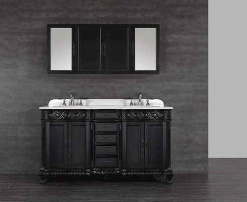 60 trent vanity combo medicine cabinet sold separately - Bathroom vanity and medicine cabinet combo ...