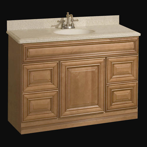 "Pace Plantation Series 48"" X 21"" Vanity With Drawers At Menards®"