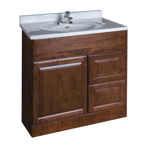 "Pace Valencia Series 30"" X 18"" Vanity With Drawers On Right At Menards®"