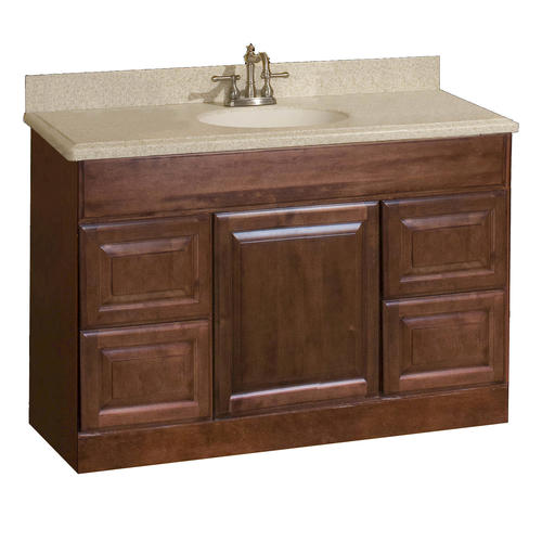 pace valencia series 48 x 21 vanity with drawers at menards