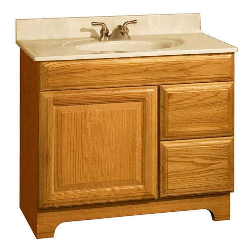 pace carnegie series 36 x 18 vanity with drawers on