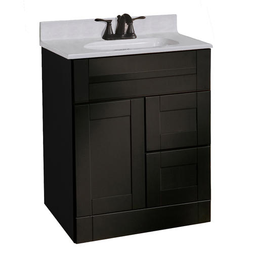 pace murano series 24 x 21 vanity with drawers on right