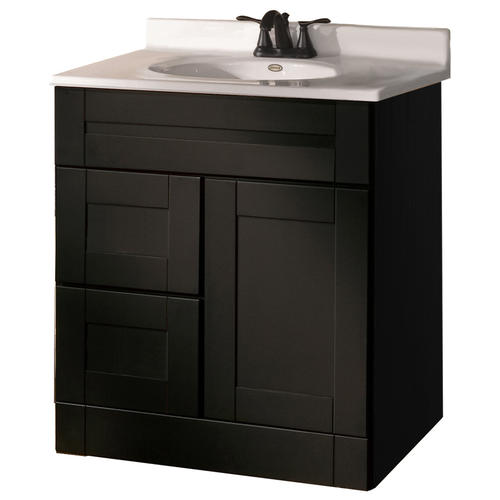 pace murano series 30 x 21 vanity with drawers on left