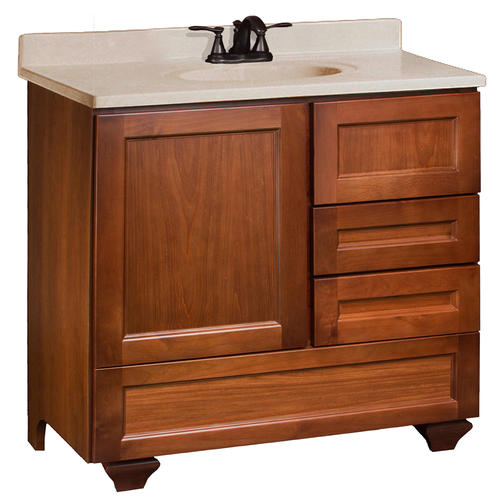pace roma series 36 x 21 vanity with bottom drawer and
