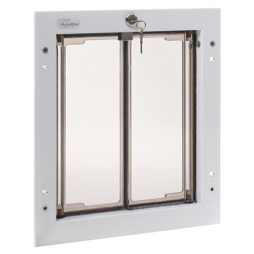 plexidor medium door mount in white at menards