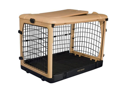 Pet Gear The Other Door Steel 36 Quot Tan Crate With Plush Pad