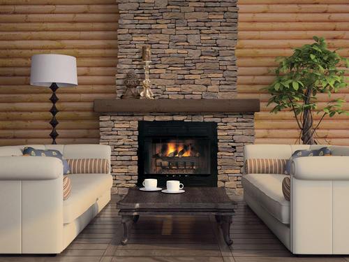 Ledgestone Fireplace Are Fascinating Option : Ledgestone Fireplace Are Fascinating Option : Ply Gem Stone Fireplace