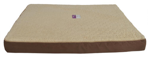 Masterpaws Rectangular Ortho Pet Bed at Menards