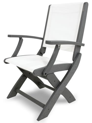 POLYWOOD Coastal Folding Chair at Menards