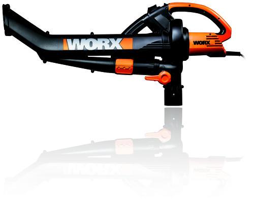 Worx Leaf Blower Vacuum Mulcher : Worx trivac™ electric blower mulcher vacuum at menards