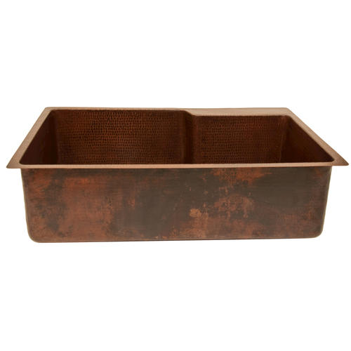 Menards Kitchen Sinks : ... Copper Kitchen Single Basin Sink with Space for Faucet at Menards