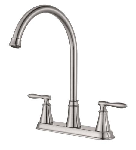 pfister glenora 2 handle kitchen faucet at menards 174