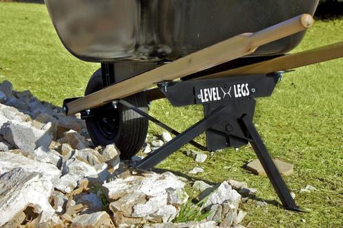 Menards Landscaping Tools : Freeman tools level legs self leveling wheelbarrow stand