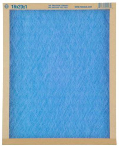 "True Blue 20"" x 20"" x 1"" MERV 2 Fiberglass Air Filter at"