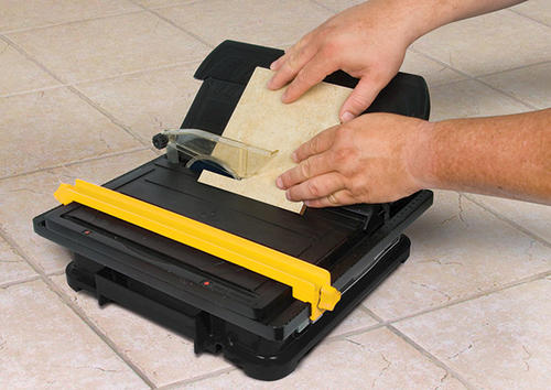 Portable Flooring Saw : Qep quot torque master xt portable tile wet saw at menards