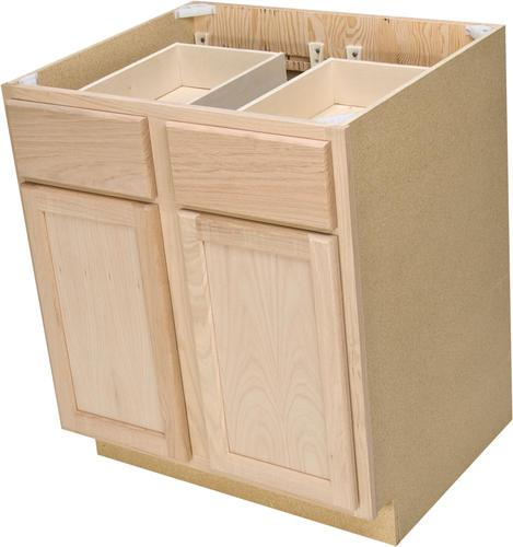 base cabinets for kitchen quality one 30 quot x 34 1 2 quot unfinished oak base 4325