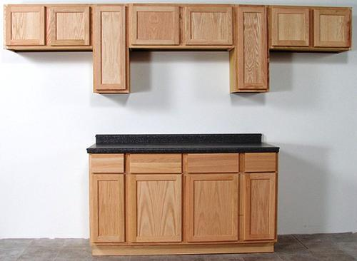 quality one 60 x 34 1 2 unfinished oak sink base cabinet with 2 active drawers at menards. Black Bedroom Furniture Sets. Home Design Ideas