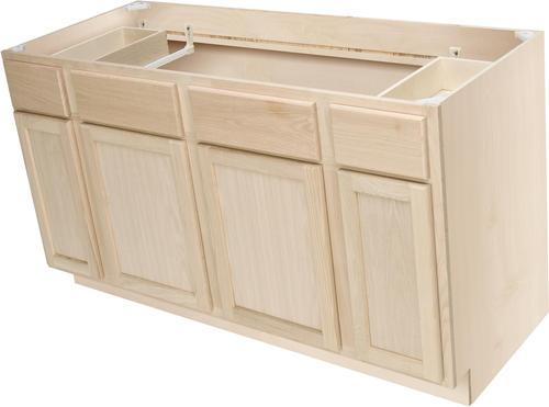 Quality One 60 Quot X 34 1 2 Quot Unfinished Premium Oak Sink