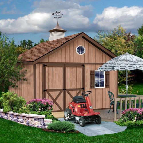 Best barns brandon 12 39 x 20 39 shed kit without floor at for Garden shed kits menards