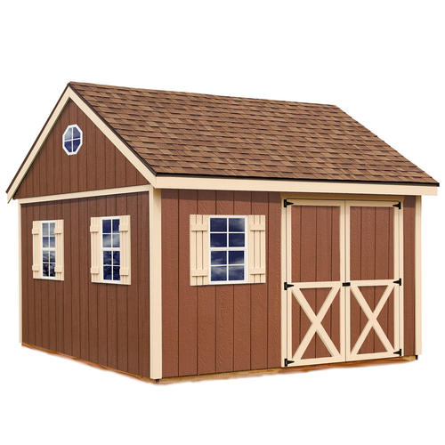 Best barns mansfield 12 39 x 12 39 shed kit without floor at for Garden shed kits menards