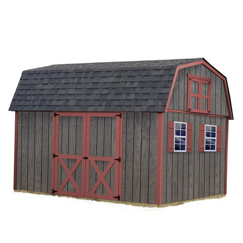 Best Barns Meadowbrook 10 x 12 Shed Kit without Floor at