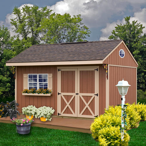 Best barns northwood 10 39 x 14 39 shed kit without floor at for Garden shed kits menards