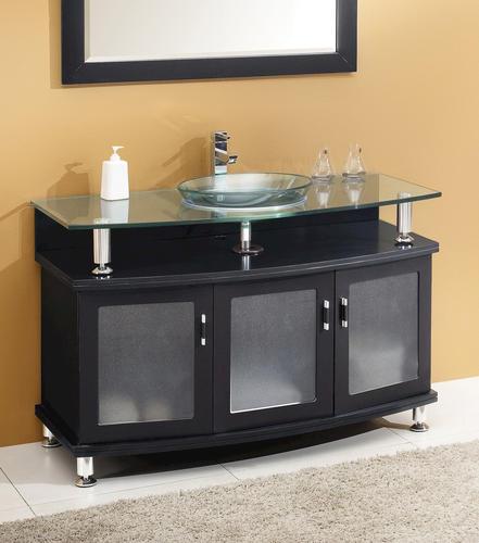 contento 48 espresso modern bathroom vanity ensemble at menards