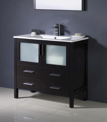 modern bathroom vanity ensemble w integrated sink at menards