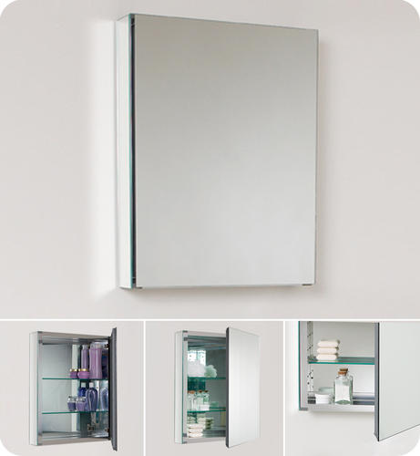 fresca small bathroom medicine cabinet w mirrors at menards