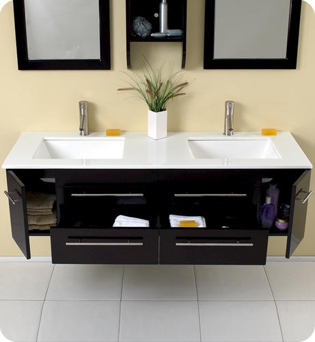 Luxury The First Step In Designing My Moms 1940sstyle, Nospecialorders, Blackandwhite Bathroom Was  That A White Vanity Would Be The Way To Go Countertop Black Or Carreraesque Heres Another American Standard Sink From The Same