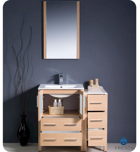 Lighted Vanity Mirror Menards : Fresca Torino 36