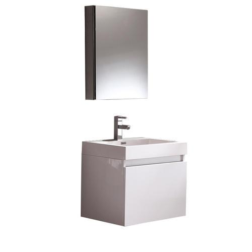 nano white modern bathroom vanity w medicine cabinet at menards