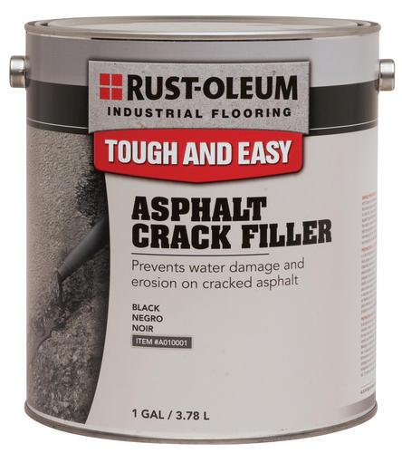 Asphalt Crack Filler Products : Rust oleum industrial flooring asphalt crack filler