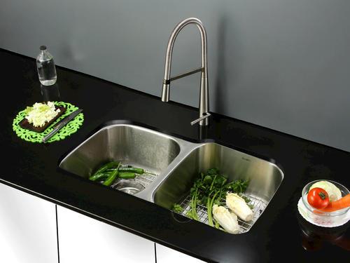 Ruvati Rvm4315 Undermount 16 Gauge 32 Kitchen Sink Double Bowl At Menards
