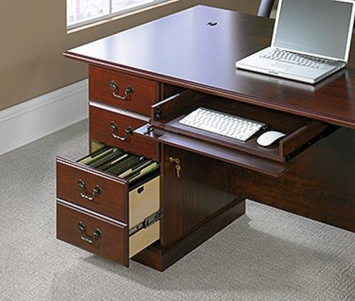 Sauder Heritage Hill Classic Cherry Executive Desk At Menards®